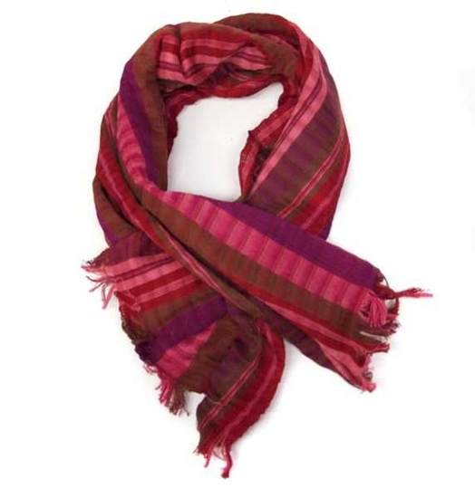 Picture of stripe scarf