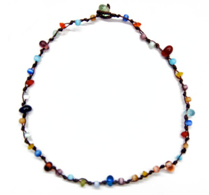 Picture of jippy multicolor necklace