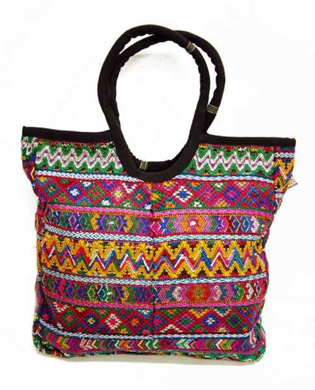 Picture of large huipil tote