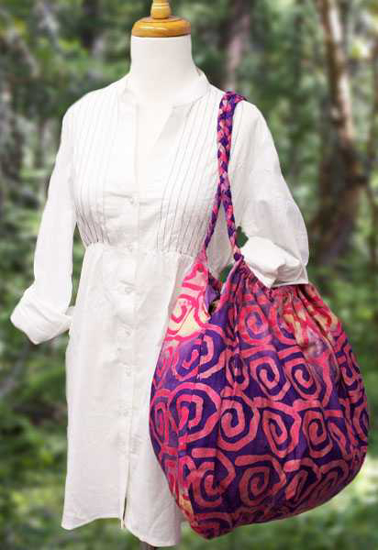 Picture of batik braided bunch
