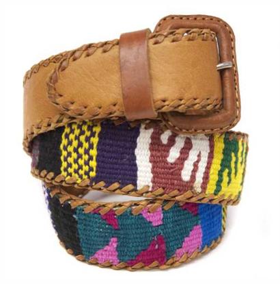 Picture of multicolor belt