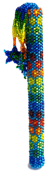 Picture of beaded pen cover
