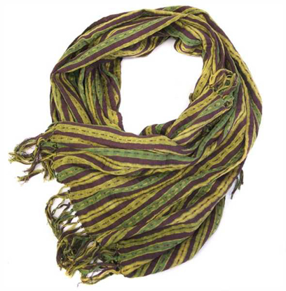 Picture of jewel tone shawl
