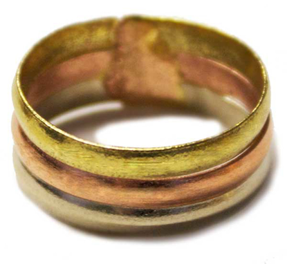 Picture of tricolor wide band
