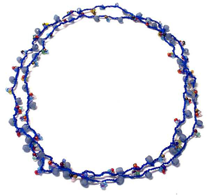 Picture of crochet necklace