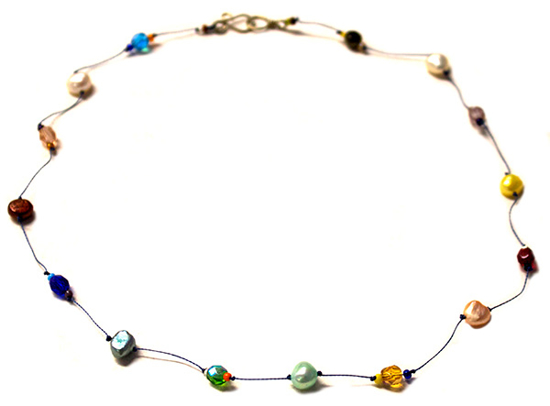 Picture of trapeze necklace