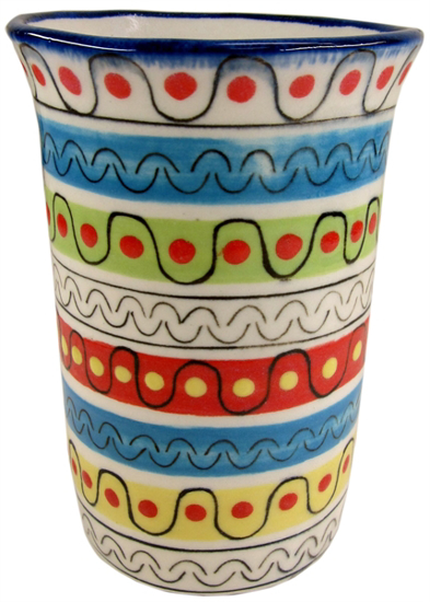 Picture of stripe vase