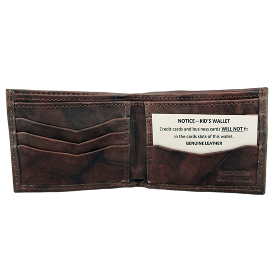 Picture of kids' leather wallet