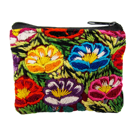 Picture of huipil coin purse