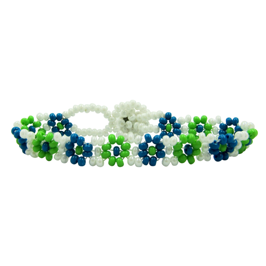 Picture of kids' beaded bracelet