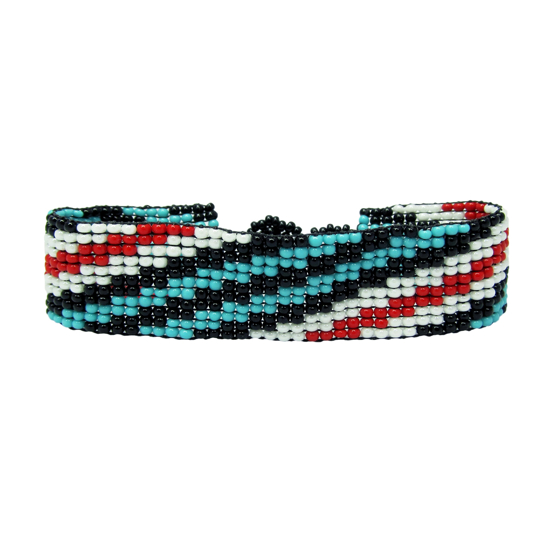 Picture of beaded stripe