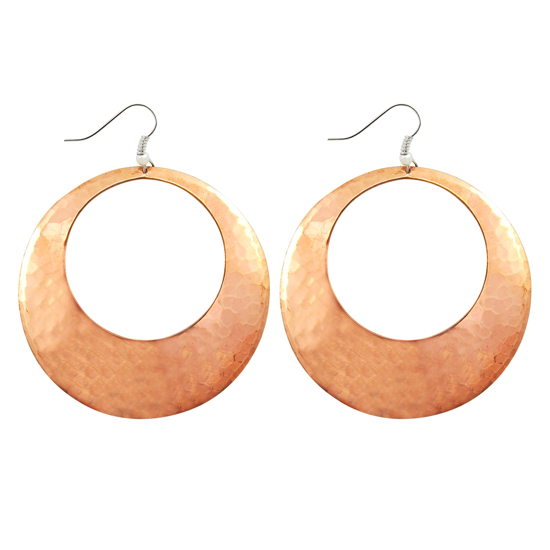 Picture of copper hoops - large
