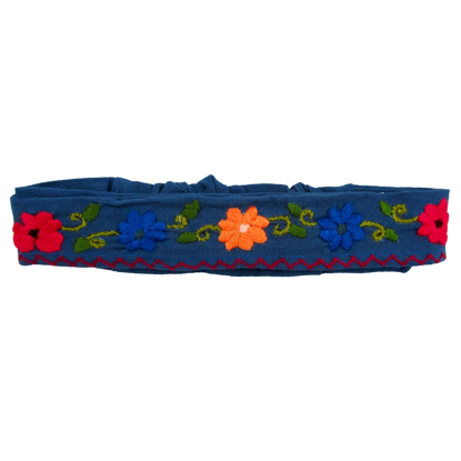 Picture of floral headwrap