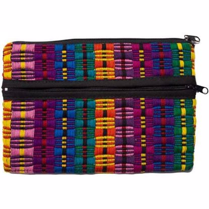 Picture of comalapa triple zip pouch