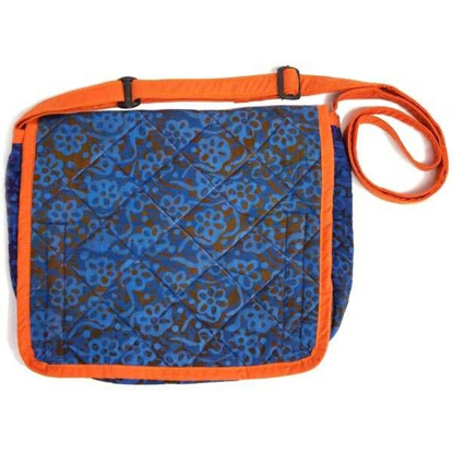 Picture of batik messenger bag