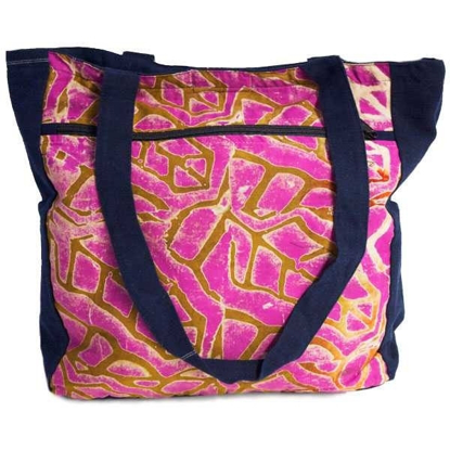 Picture of batik tote