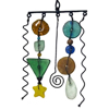Picture of metal and glass bead mobile