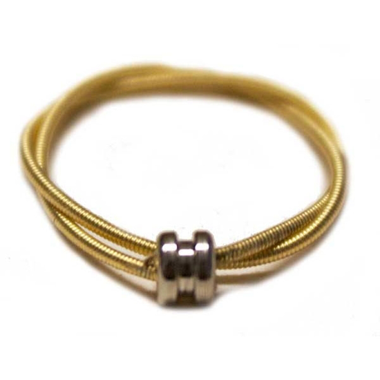 Picture of guitar string ring