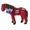 Picture of beaded horse