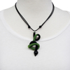 Picture of fiddlehead necklace