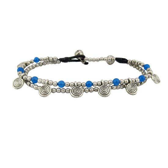 Picture of spiral bracelet
