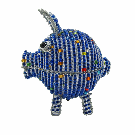 Picture of purple pig