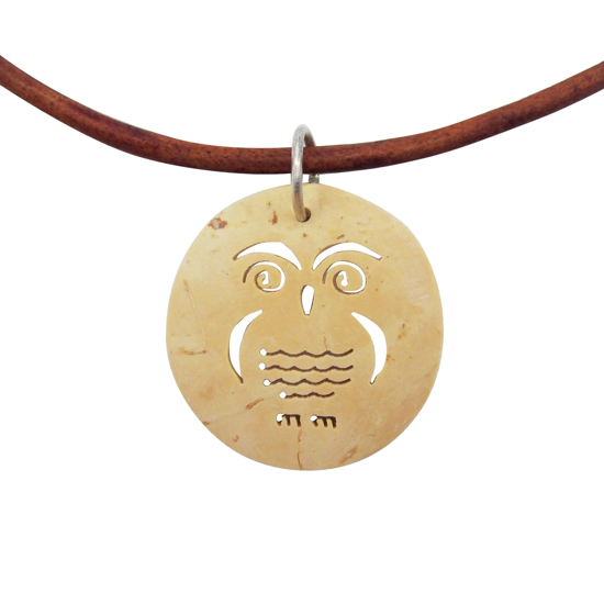 Picture of coco leather necklace