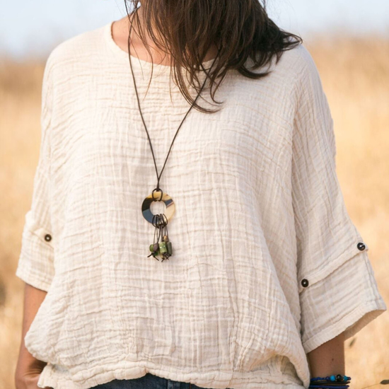 Picture of horn necklace
