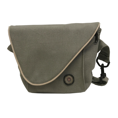 Picture of canvas bike bag