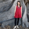 Picture of gauzy coco button tunic