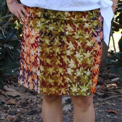 Picture of batik skirt