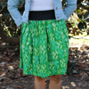 Picture of batik cinch skirt