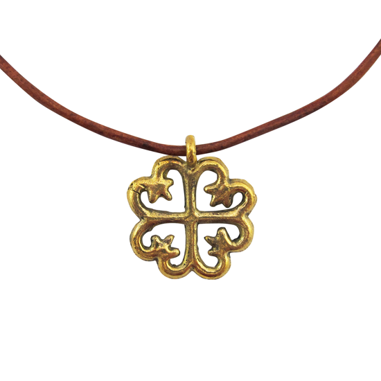 Picture of adinkra necklace