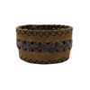 Picture of wide leather bracelet
