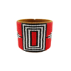 Picture of wide beaded cuff