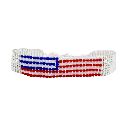 Picture of flag bracelet
