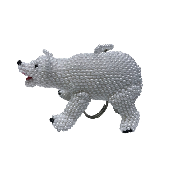 Picture of bear keychain