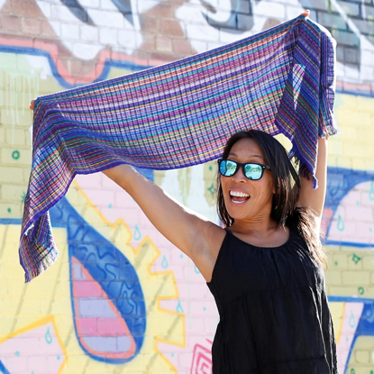 Picture of san antonio stripe scarf