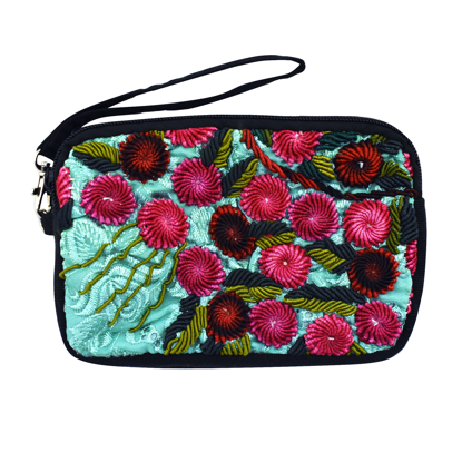 Picture of rococo wristlet