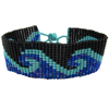 Picture of wave one inch bracelet