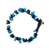 Picture of glass trio disk bracelet