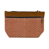 Picture of florecita leather trim clutch
