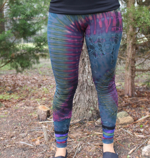 Picture of layered bottom leggings