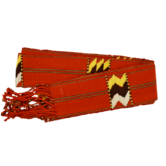 Picture of embroidered sash