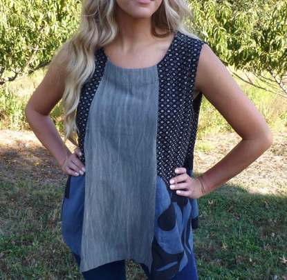 Picture of jewel top sleeveless