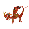 Picture of fiery dragon