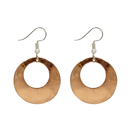 Picture of copper hoops