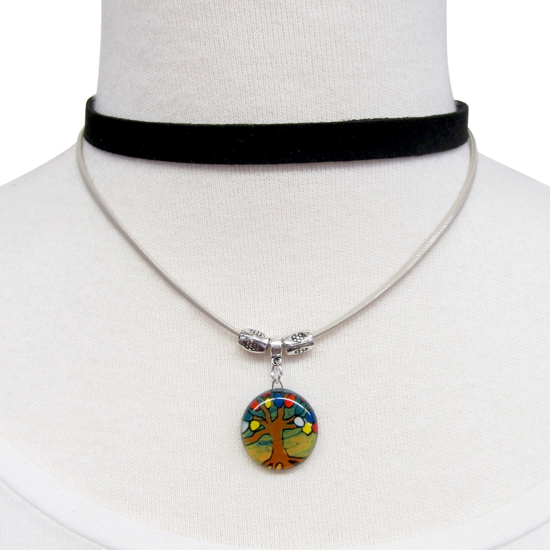 Picture of fusion tree of life double choker