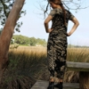 Picture of short-sleeve cotton dress
