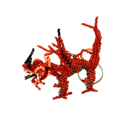 Picture of dragon keychain